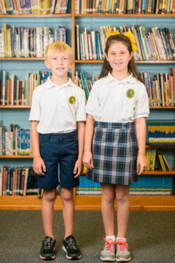 Uniforms for students at OLF